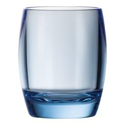割れないグラスカラーランブラー ペアセット ブルー