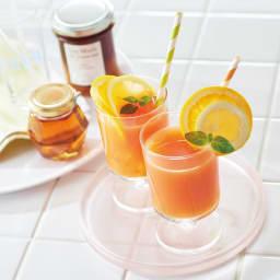 Toffy/トフィー ミニスロージューサー オレンジとグレープフルーツのジュース