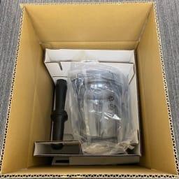【訳あり】 Vitamix/ヴァイタミックス バイタミックスA2500i (アセント2500) 中身はこんな感じ。付属品等は全て入っています。