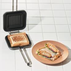 家事問屋 IHでも使える ホットパン ホットサンドメーカー
