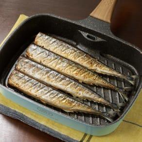 TOFFY トフィー スモークレスグリルパン 魚焼きグリル フライパン 写真