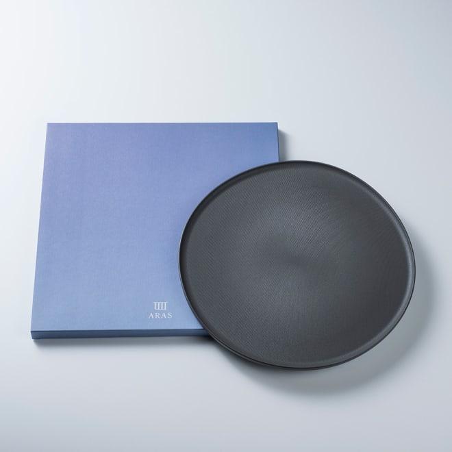 ARAS お皿27cm モアレ 割れないお皿 樹脂製とは思えないとっても高級感あるお皿です