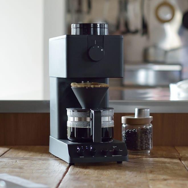 """「カフェ・バッハ」 田口護氏監修 全自動コーヒーメーカー3杯用 (TWINBIRD CM-D457B) 世界的にも有名な""""コーヒーレジェンド""""監修の、本格的なコーヒーメーカーです。"""