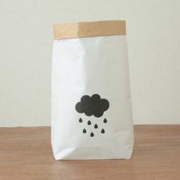 日本のお米屋さんが作った北欧風ペーパーバッグ (エ)CLOUD 表