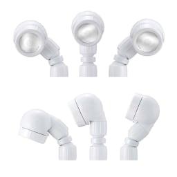 節水&水圧アップシャワーヘッド 「スカルプケア」モデル 3Dアース手元ストップシャワー