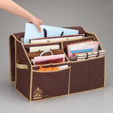 ワイド紙袋収納ボックス