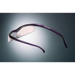 眼鏡型拡大鏡 ハズキルーペクール1.6(ブルーライトカット55% カラーレンズ) (イ)パープル