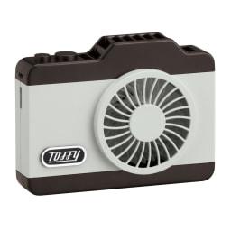 Toffy/トフィー LEDハンズフリーカメラファン (ウ)アッシュホワイト