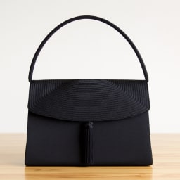 岩佐 組紐刺繍タッセルハンドバッグ