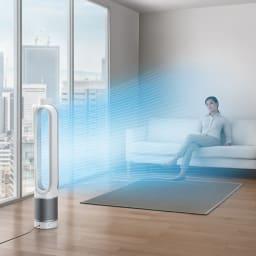 dyson/ダイソン 空気清浄機能付きファンTP03 キレイな空気をお部屋に。サーキュレーターとしても使えます♪