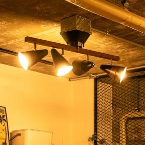 トゥルーロリモート 4灯シーリングライト 写真