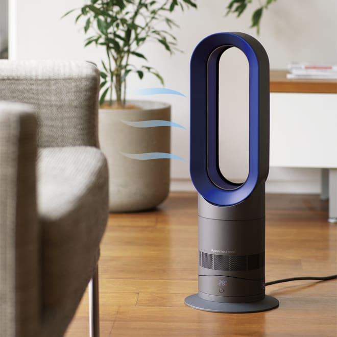 dyson/ダイソン hot&cool(暖房&扇風機) AM09 (ア)アイアン×サテンブルー