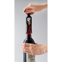 ル・クルーゼ カジュアルワインセット ワインオープナーでスマートに開栓