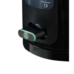 BRAUN/ブラウン 電気ケトル 1L 優しいグリーンの灯りで、湯沸し中をお知らせします。