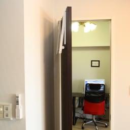 ドアスペースハンガー 2個組 収納イメージ