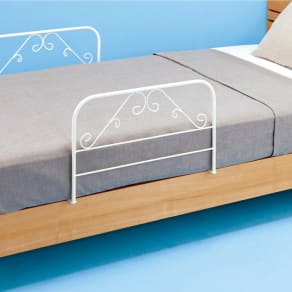 日本製 ベッドガード2個組 写真