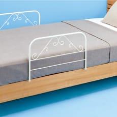 日本製 ベッドガード2個組