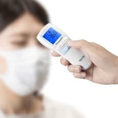タニタ触れずに1秒で測れる非接触体温計(単品販売)
