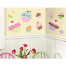 壁用ステッカー「カップケーキジャイアント」