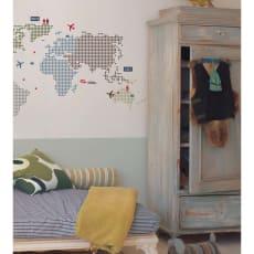 壁用ステッカー「KL ワールドマップ」