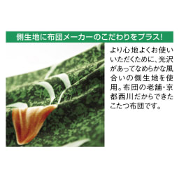 京都西川はっ水こたつシリーズ 座布団カバー(同色5枚組) 55×59cm