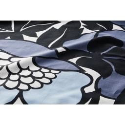普通判 2枚組(Finlayson/フィンレイソン カバーリング アンヌッカ ピローケース) (ア)ブルー系 生地アップ