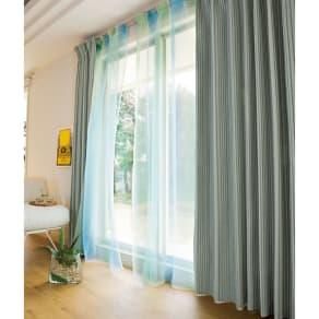 フォトジェニックカーテンセット 幅100×丈230cm(4枚組) 写真