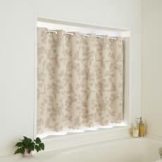 目隠し1級遮光・はっ水カフェカーテン 対応窓幅70~110cm(生地幅144cm)
