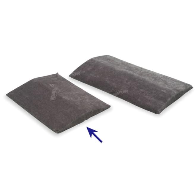 テンピュール(R) ベッドバックサポート スモール 寝ながら腰や背中をサポートして、正しい寝姿勢に。