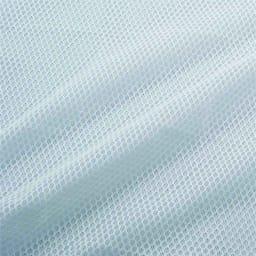 【2018年モデル】オーガニックコットンのナガークールシリーズ お得な敷き&ピローセット 敷きパッドとピローパッドは、裏面は通気性のよいメッシュ素材を使用。