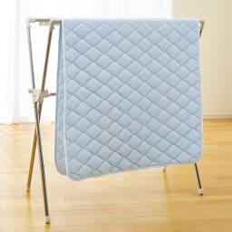 お得なファミリー寝具セット幅240cm [アクアジョブ(R)パッドシーツ]部屋干しでも約2.5時間で乾きます!(※イメージ画像)