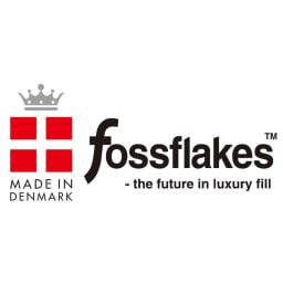 フォスフレイクス枕 コンフォートU 専用カバー単品 フォスフレイクスは「夢の人造羽毛」としてデンマークで発明された特許素材です。