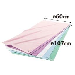 まくら株式会社×バスリエ×ディノス3社共同企画 今治バスタオルピロー 今治タオルの中でも、特に枕に適したタオルを厳選。