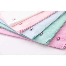 まくら株式会社×バスリエ×ディノス3社共同企画 今治バスタオルピロー 癒しのカラーで見た目からもリラックス。