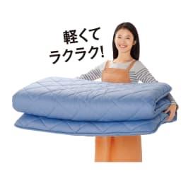 【西川リビング】フランス産羽毛 布団6点セット(シングルロング) 銀 6点セット