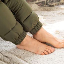 バージョンアップしました!昨冬人気のテイジンV-Lap(R)使用 着る布団シリーズ 足カバー 足の出し入れも自由に