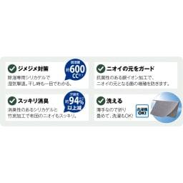 抗菌コンパクト&ワイド敷布団 専用除湿シート ファミリー布団用