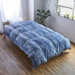 バーゲン寝具シリーズ 羽毛布団(ライトタイプ) シングルロング2枚組