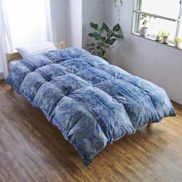 バーゲン寝具シリーズ 羽毛布団(レギュラータイプ) シングルロング2枚組