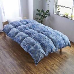 バーゲン寝具シリーズ 羽毛布団(羽毛増量タイプ) シングルロング