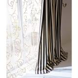 幅100×丈105cm(1枚)(Satin Stripe カーテン) 写真