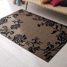 SYLPHY/シルフィー 洗えるモケット織ラグ 約135×200cm 写真