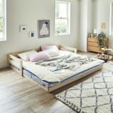 お得なファミリー寝具セット(ハッピー)幅200cm 写真