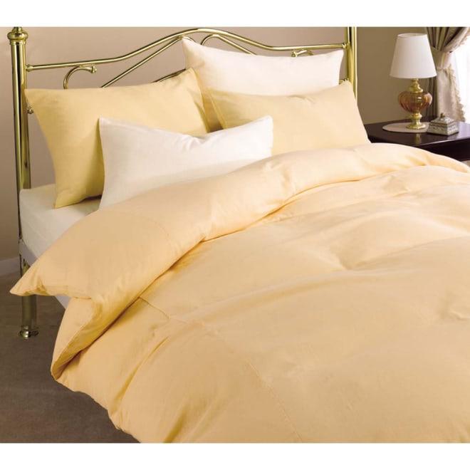 二重ガーゼ 掛けカバー 羽毛布団にはガーゼカバーを。1年中気持ちよく使えるカバーです! (ア)オレンジ ※お届けは掛けカバーです。