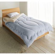 発熱するコットン「デオモイス」寝具シリーズ フランネルニットの掛け布団