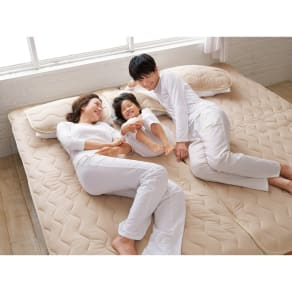シングル(家族の寝具のニオイ対策に!フレッシュ&ドライ消臭除湿敷きパッド 敷きパッド) 写真
