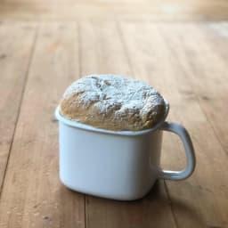 富士ホーロー ホーロー 角型みそポット N-KP ホーローポットでパンも焼けます。