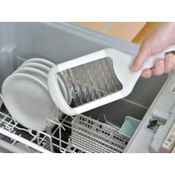ザクザク!ステンレスおにおろし 食器洗い機で洗えます。