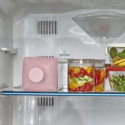 HARIO/ハリオ 冷蔵庫に横にして置ける カークボトル 冷蔵庫の棚に横置きでもOK