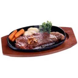 トレイ付きマルチステーキ皿 2枚組